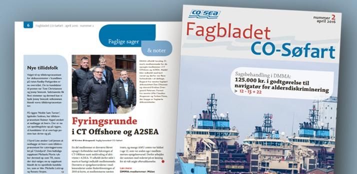 Fagbladet CO-Søfart nr. 2 er udkommet