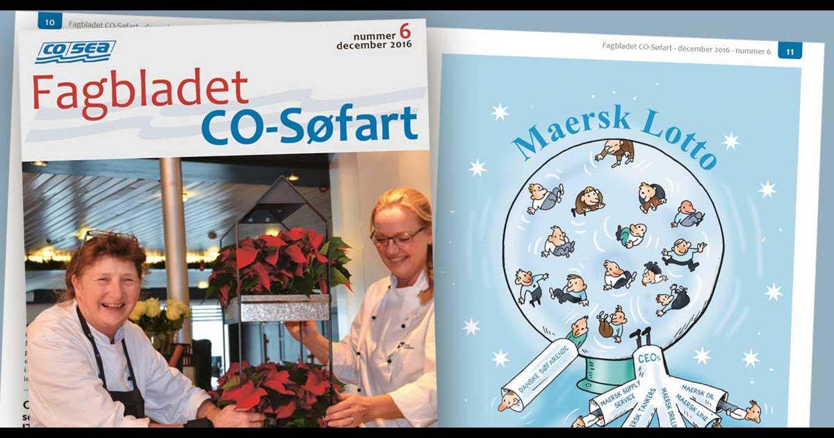 Fagbladet CO-Søfart nr. 6 er udkommet