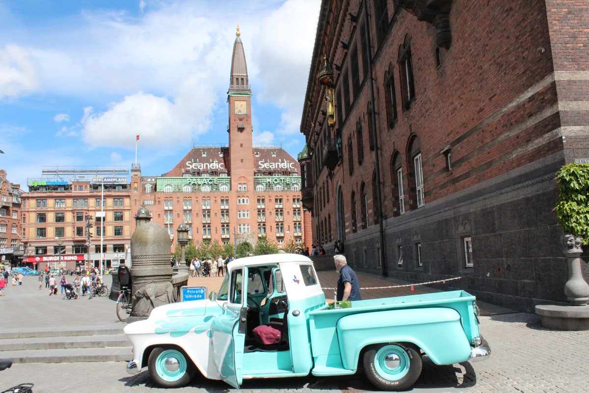 """""""Helte"""" fra Metal Maritime udstillet på Københavns Rådhus"""